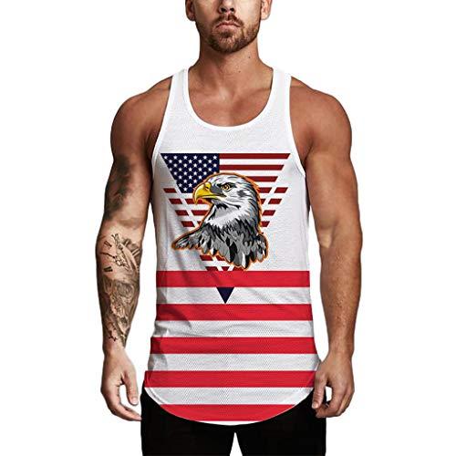 Sweatshirt hommes Biker American Pride USA Col Rond-Pull moonworks ®