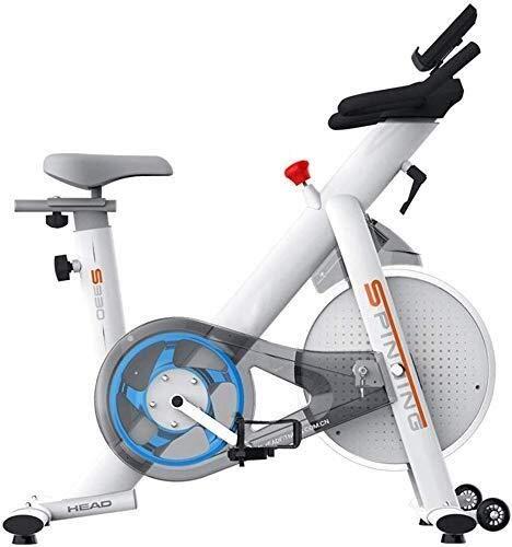 WEI-LUONG plegable La bici de ciclo indoor, Silent transmisión del cinturón de bicicleta estacionaria Bicicleta con acero volante, soporte for teléfono, asiento ajustable y el manillar, monitor LCD, m