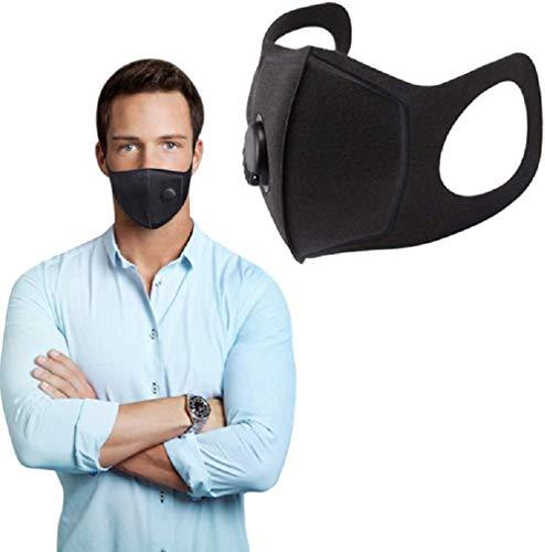 AWFAND Masque anti-poussière respirateur avec filtre en carbone, PM2,5 anti-buée, anti-poussière pour divers usages