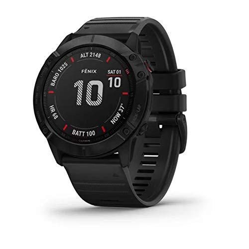 Garmin Fenix 6X saffier smartwatch leigrijs/zwart 010-02157-11