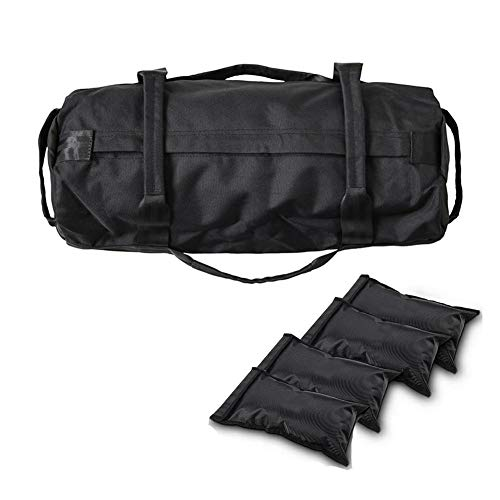 Correct Fitness Weights Sandbags - Training Power Bag 900D Oxford Fabric Adjustable Weight Energy Bag Sand Filled Weights Bag for Outdoor Fitness Weightlifting Workout Exercise Sandbags Handsome