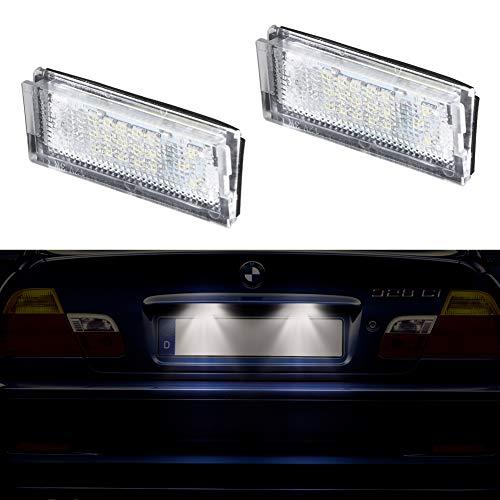 Fits BMW 1 Series E82 120d Blanc 54-SMD DEL 12 V Side Light Parking Ampoules