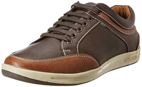 Centrino Men's 3322 Brown Sneakers-9 UK (43 EU) (10 US) (3322-02)