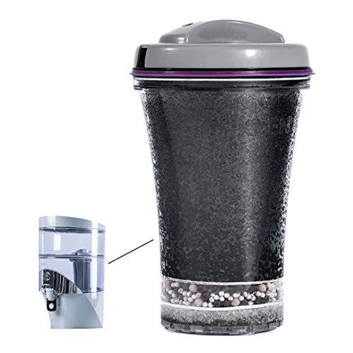 Nikken Waterfall 1 Filterkartusche 13845 – Ersatz für Schwerkraft-Wasserfilter-Reiniger-System 1384 – PiMag Wassersystem-Komponenten – hilft dem Körper sich von Säure – bis zu 45 Liter Wasser pro Tag