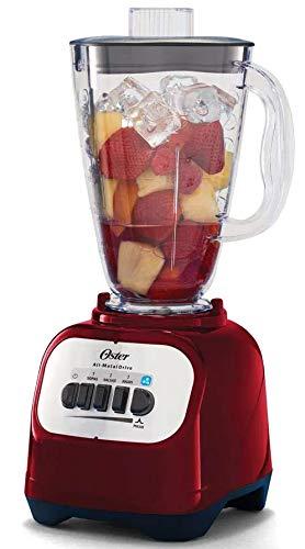 licuadora oster roja vaso de vidrio fabricante Oster