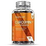 Curcumine 500 mg + Vitamine D Haute Absorption x 185-60 capsules molles WeightWorld | Complément alimentaire avec du Curcuma...