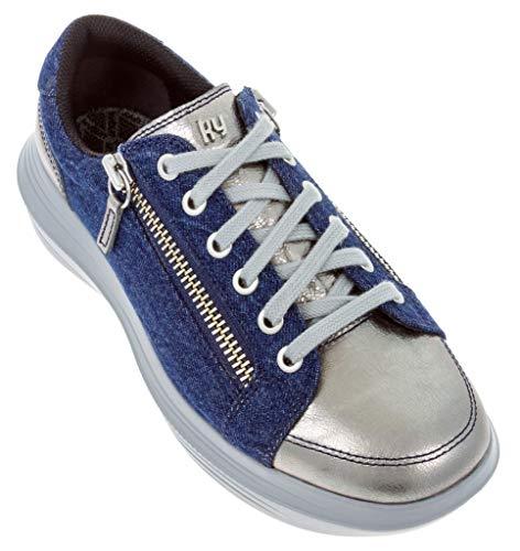 KYBUN , Damen Sneaker, Blau - blau - Größe: 38 1/3 EU