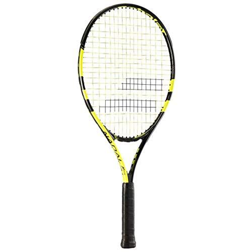 Babolat Nadal Jr 26 Raqueta de Tenis, Unisex niños, Negro/Amarillo, 0
