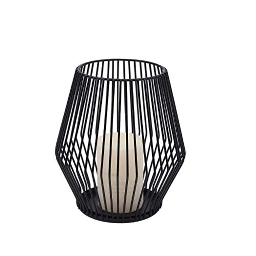 Black Metal Wire Tea Light Candle Holder for Indoor Outdoor,Events,Parties and Wedding Decorations (Small)