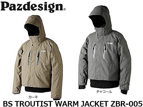 パズデザイン BSトラウティストウォームジャケット ZBR-005 カーキ L