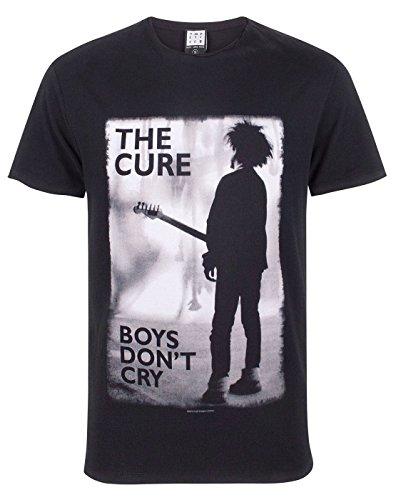 Amplified The Cure Boys Do Not Cry Banda de los Hombres de la Camiseta
