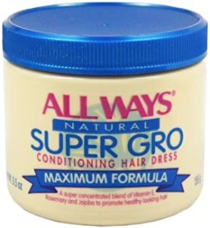 All Ways Natural Super Gro Conditioning Hair Dress, 5.5 Ounce