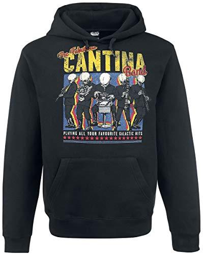 Preisvergleich Produktbild Star Wars Cantina Band On Tour Männer Kapuzenpullover schwarz XL