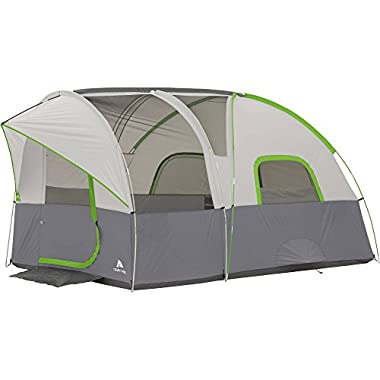 Ozark Trail 12' x 8' Modified Dome Tunnel Tent, Sleeps 6 Summer Beach Vacation Ozark Trail 12' x 8' Modified Dome Tunnel Tent, Sleeps 6 Summer Beach Vacation