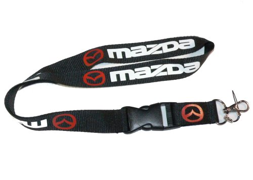 Mazda Lanyard Keychain Holder