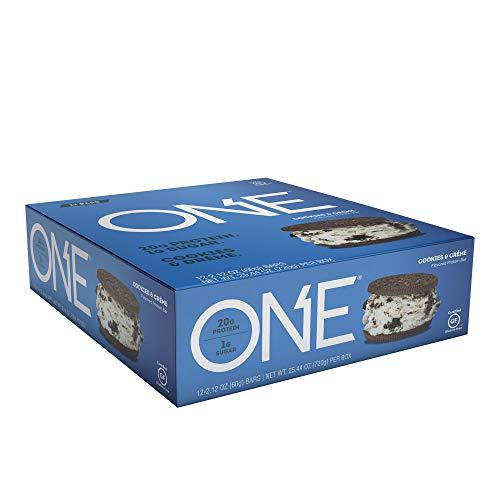 One, Cookies Cream Flavor, 12 Bars, 2,12 Unzen (60 g), die jeweils - Oh Yeah!