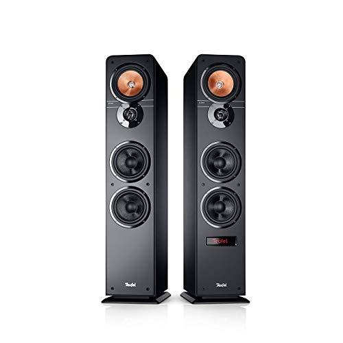 Teufel Ultima 40 Aktiv Schwarz Stereo Lautsprecher Musik Sound Hochtöner Mitteltöner Bass Speaker High End HiFi Tieftöner Schalldruck Soundanlage