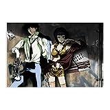 Anime-Poster Cowboy Bebop Spike Spiegel und Faye Valentine