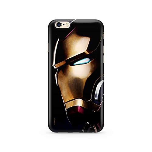 Original & Offiziell Lizenziertes Marvel Iron Man Handyhülle für iPhone 6, iPhone 6S, Hülle, Hülle, Cover aus Kunststoff TPU-Silikon, schützt vor Stößen & Kratzern