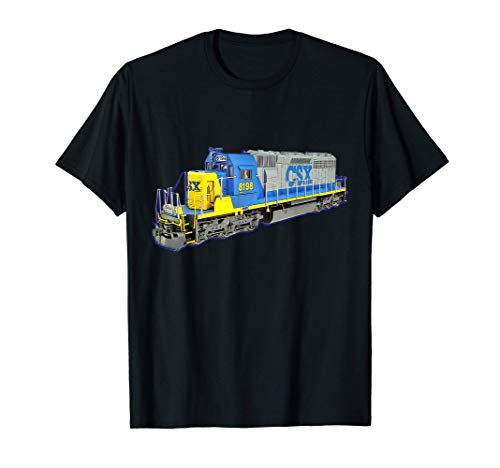 Freight Train CSX Engine T-Shirt