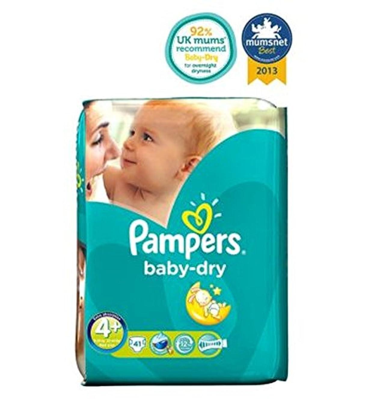何かウェーハ高価なPampers Baby-Dry Nappies Size 4+ Essential Pack - 41 Nappies - パンパースベビードライおむつサイズ4+不可欠パック - 41おむつ (Pampers) [並行輸入品]