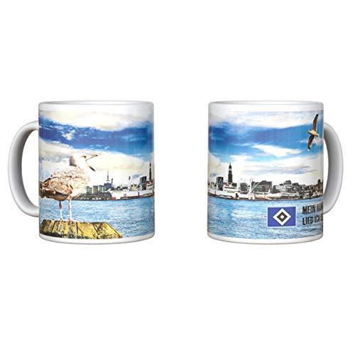 Hamburger SV HSV Tasse Becher Kaffeebecher Elbe