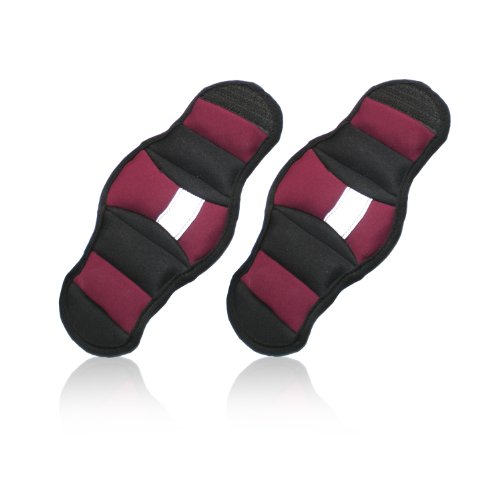 CAP Fitness Pair of 2 Pounds Wrist Weights (Magenta)