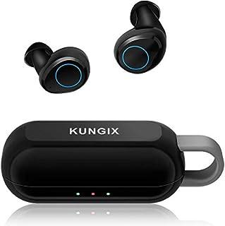 KUNGIX Audífonos Bluetooth Inalámbricos, Control Táctil A