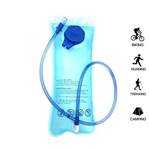 WINDCHASER Kleiner Fahrradrucksack Trinkrucksack Wasserdicht Rucksäcke für Wandern Klettern, Fahrradfahren, Laufsport, Camping Sportrucksack Ultraleicht Fahrrad Rücksack (Blau Trinkblase)