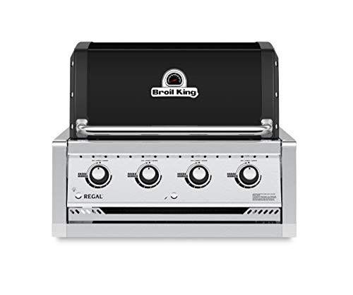 Broil King Barbecue a Metano/Gas Naturale Regal 420 da Incasso Nero 2020