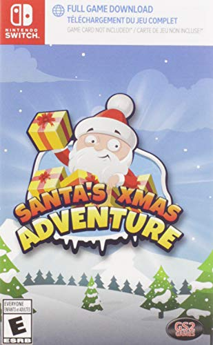 Santa's Xmas Adventure Complete Edition (game download code in box) - Nintendo Switch