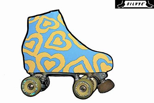 pequeño y compacto SILVYE – Funda para patines NEWS con estampado limitado para patinaje artístico (talla…
