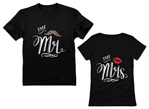 his and hers shirts hubby wifey shirts couples gift matching shirts for couples wonderland shirts Mr and Mrs shirts christmas gifts
