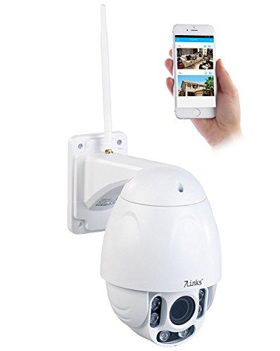 7links Dome Kamera: Speed-Dome Outdoor-WLAN-IP-Überwachungskamera mit Full HD & Nachtsicht (Speed Dome Kamera)