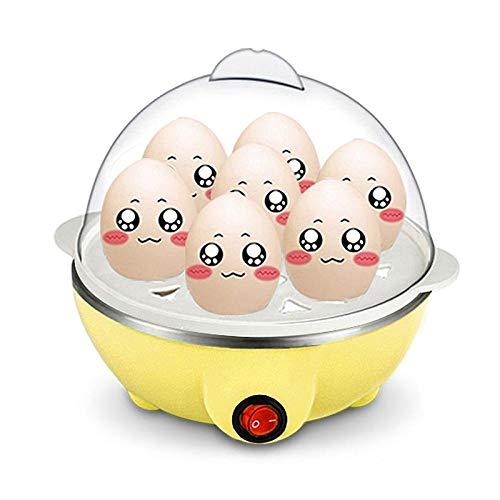 YJM Hervidor de Huevos hervidor de Huevos eléctrico Universal multifunción 7 hervidor de Huevos hervidor de Agua Herramientas de Cocina Utensilios de Cocina Desayuno Huevo