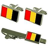 Select Gifts De la Ciudad de Besancon, Francia Bandera Gemelos Clip de Corbata Box Set de Regalo
