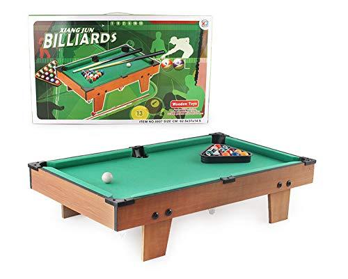 YJF Mini De Madera sobre La Mesa De Billar Mesa De Billar Snooker ...