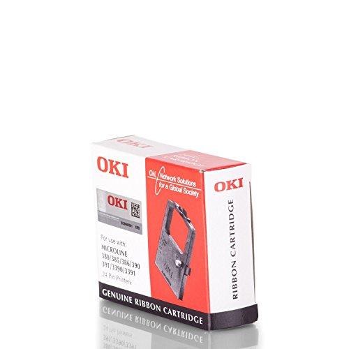 OKI 9002309Fur Druckerfur Drucker Farbband schwarz Matrix Punkt 24 Pin schwarz ML380385390139133903391 Behalter