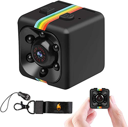 Mini Spy Camera Secret Camera 1080P SQ11 Spy Camera with IR Night Vision & Motion Detection, Small Surveillance Camera for Home