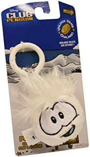 Club Penguin Puffle Clip On ~ White With Coin Code [Toy] by jacks