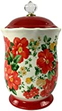 The Pioneer Woman Pioneer Vintage Floral 10-Inches Canister w/Acrylic Knob (1)