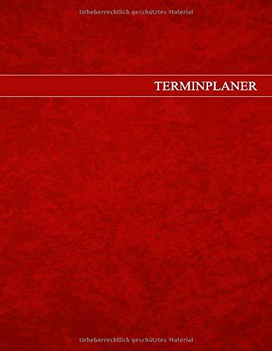 Terminplaner A4: Geschäfts-Terminbuch in A4 für Praxen, Büros und Solons - Super geeignet für Selbstständige Friseure und Ärzte - Großes Terminbuch ... des Zeitmanagements im 10 Minuten Takt