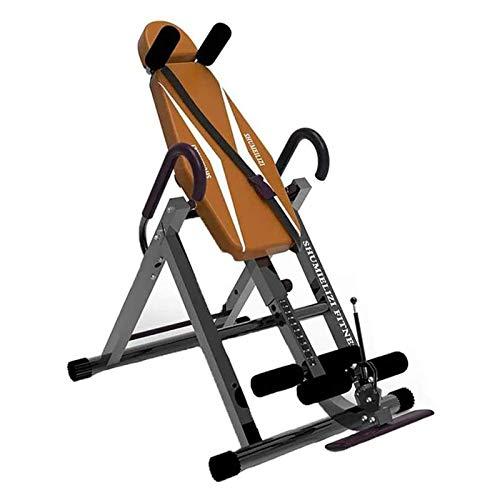 WJFXJQ Máquina Invertida Yoga Camilla Auxiliar para el hogar Equipo de acondicionamiento físico, Altura Ajustable, Alargada y Ancha.