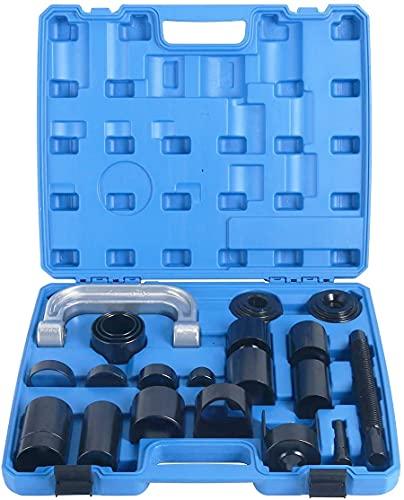 Juego completo de extractor instalador de rotulas y silentblocks 21 piezas UNIVERSAL