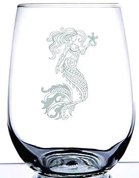 Best mermaid drinking glasses Reviews
