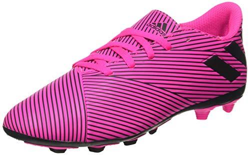 Adidas Nemeziz 19.4 FxG Jr Voetbalschoenen - Grasveld - roze - 38 2/3