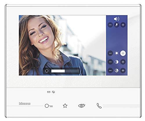 Legrand Hörerlose Video-Hausstation AP 2-D Klasse 300 V13B 7 Zoll LCD-Touchscreen, weiß, 344612