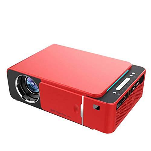 Mini-Projektor mit 3.500 ANSI Lumen Tragbarer Full HD LED-Projektor, 4K 3D 1080P Heimkino-Beamer, Android 9.0 WIFI Same Screen Version Videoprojektor, mit IR-USB-AV VGA HDMI SD-Karten-Steckplatz