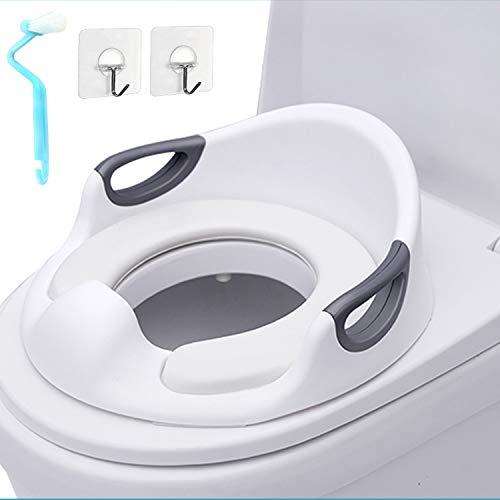 Riduttore WC per Bambini, Sedile da toilette con Cuscino Tenero per bambini per ragazzi o ragazze, in l'utilizzo di materiali ecologici, sicuro e non tossico