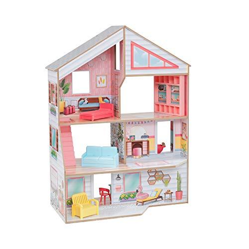 KidKraft- Charlie Casa delle Bambole, 10064